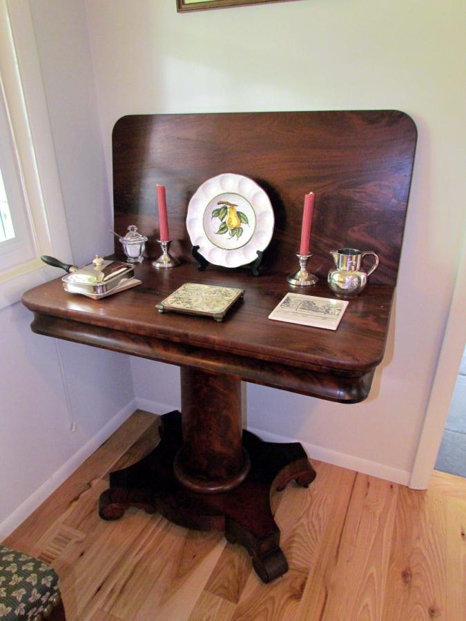 19th Century American Empire Game Table