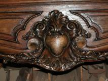 Mantle Carving